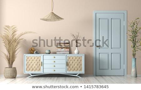 Legno cassetto classico design illustrazione legno Foto d'archivio © colematt