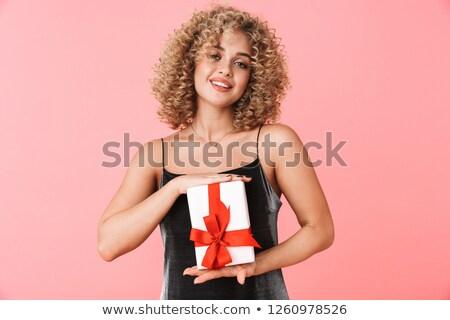 Photo posh femme 20s Photo stock © deandrobot