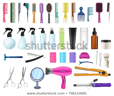 vector set of razor Foto stock © olllikeballoon