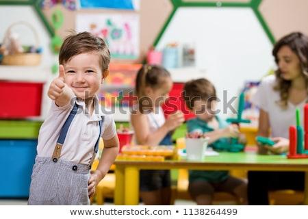 óvoda szett fiú siker üzlet megoldás Stock fotó © toyotoyo
