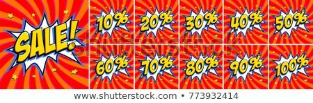 Caliente precio súper venta reducción costo Foto stock © robuart