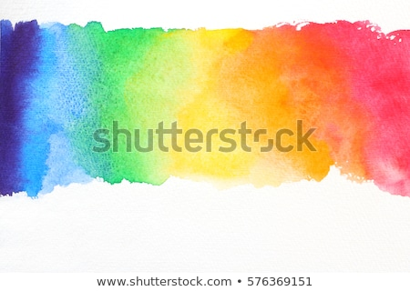 Foto d'archivio: Background With Rainbow Paint