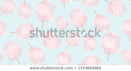 pembe · pamuk · şeker · sopa · şeker · bulut - stok fotoğraf © robuart