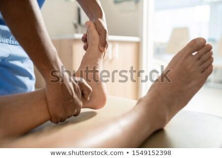 ayak · hasta · ofis · tıbbi · sağlık · bakım - stok fotoğraf © pressmaster