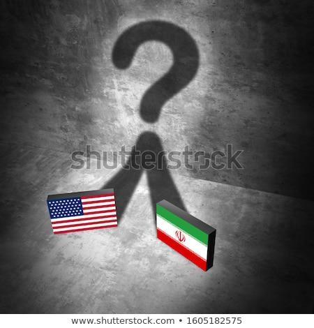 Irã militar crise armado confronto EUA Foto stock © Lightsource