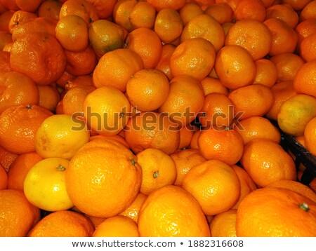 Verkoop markt stukken plaat voedsel achtergrond Stockfoto © elxeneize