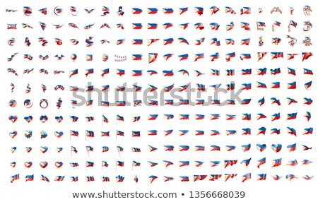 ビッグ コレクション ベクトル フラグ フィリピン 世界 ストックフォト © butenkow