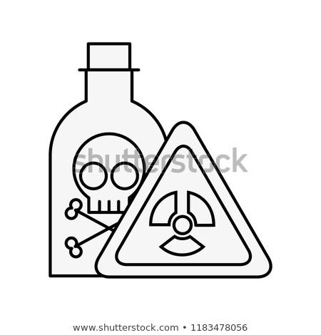 бутылку яд лаборатория опасность совета химии Сток-фото © yupiramos
