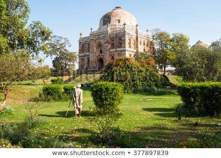 Graf tuinen stad park Delhi Indië Stockfoto © dmitry_rukhlenko