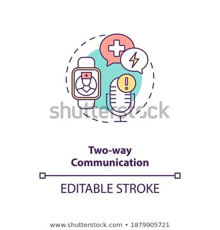 Health monitoring system vector concept metaphor Stock photo © RAStudio
