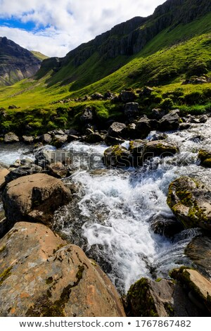 Fast flowing water Stock photo © Imagecom