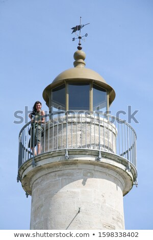 richard lighthouse gironde department aquitaine france stock photo © phbcz