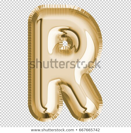Letter of the alphabet R Stock photo © RuslanOmega