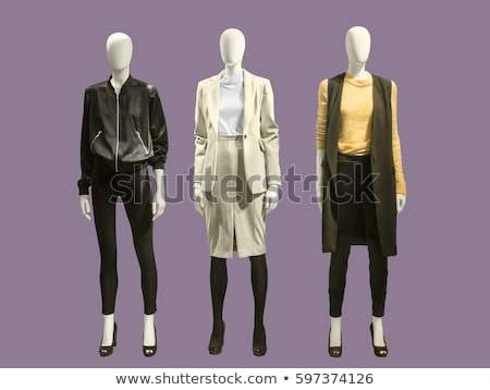 three mannequins in jackets stock photo © paha_l