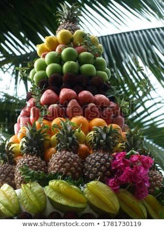 Mixed citrus tower stock photo © lightkeeper