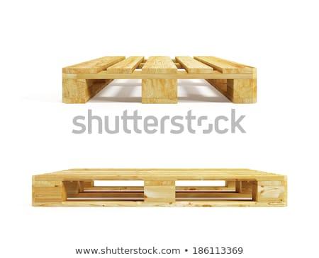 スタック · 木製 · 孤立した · 白 · 木材 · グループ - ストックフォト © latent