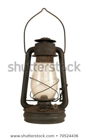 antique oil lamp Stock photo © cynoclub