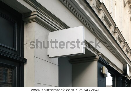 Boutique shop sign stock photo © Ionia