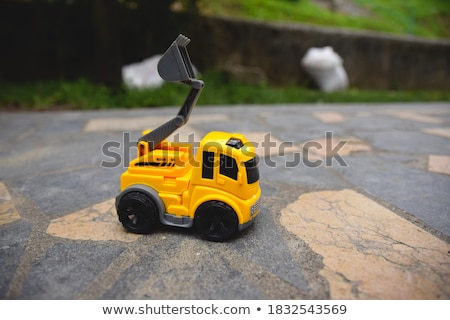 relaxed yellow digger Stock photo © prill