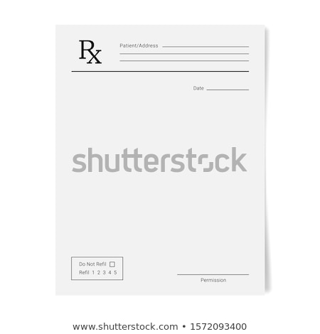 prescription Stock photo © Saphira