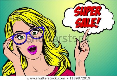 nő · számítógéppel · üzletasszony · számítógép · elektromos · fúró · üzlet - stock fotó © smithore
