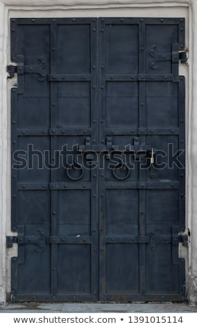 入り口 · 牙城 · オープン · ゲート · 古代 · レンガ - ストックフォト © konradbak