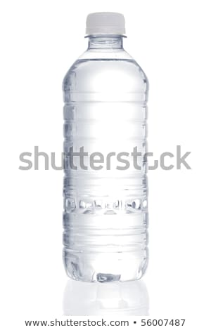 Stock image of purified water bottle over white background Stock photo © ozaiachin