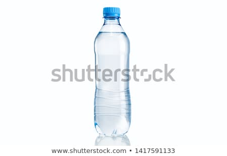 plastic · fles · geïsoleerd · witte · water - stockfoto © ozaiachin