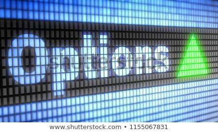 金融 オプション ビジネス 異なる ストックフォト © Lightsource
