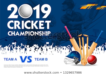 Cricket Stockfoto © Vectomart