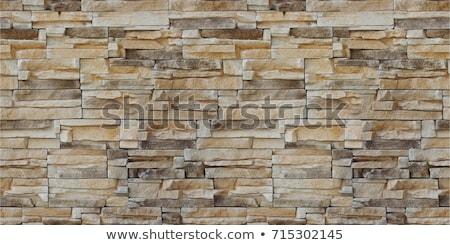 Bezszwowy mur tekstury skał domu budynku Zdjęcia stock © kentoh