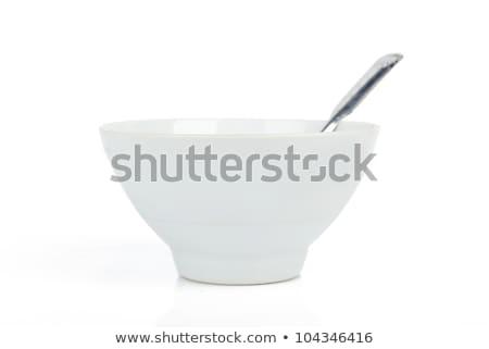 スプーン ボウル クローズアップ 醤油 生姜 キッチン ストックフォト © taden