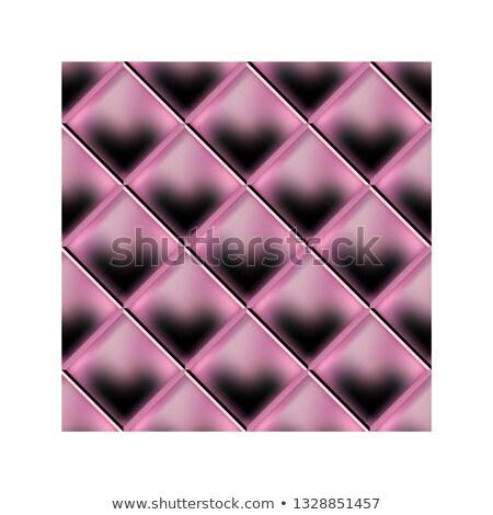 Rózsaszín kárpit bőr minta ház absztrakt Stock fotó © stoonn