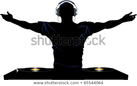 DJ Silhouettes Stock photo © derocz