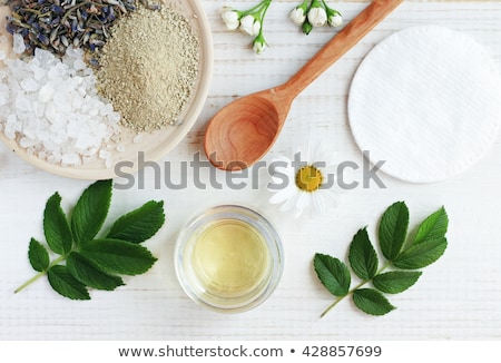 Mix of lavender flowers and cosmetic  Stock photo © tannjuska