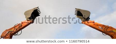 два серый небе земле промышленности назад Сток-фото © Hochwander