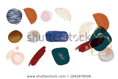 lots of various artists brushes Stock photo © morrbyte