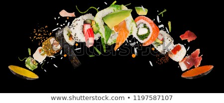 Delicious japanese meal at restaurant Stock photo © nalinratphi