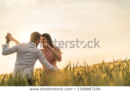 Stock photo: moment of love