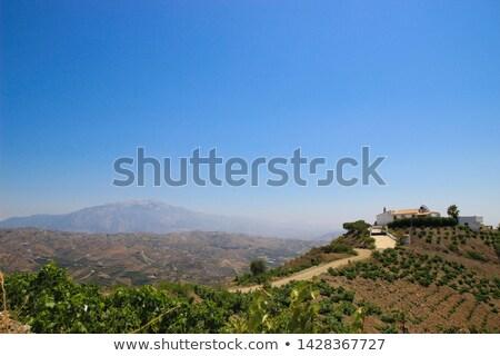 Spanish rural village Stock photo © carloscastilla