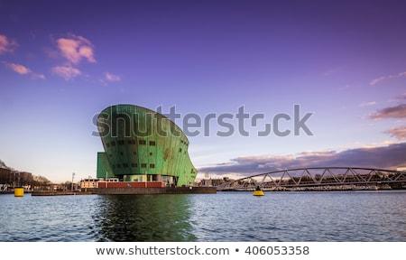 Science Center Nemo building in Amsterdam Stock photo © AndreyKr