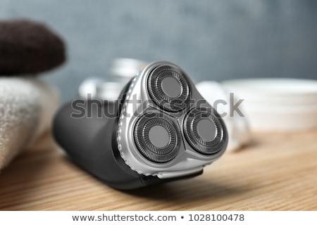 электрических бритва изолированный белый объект Сток-фото © Supertrooper