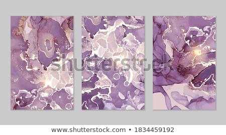 Mor akik doku güzel mineral arka plan Stok fotoğraf © jonnysek