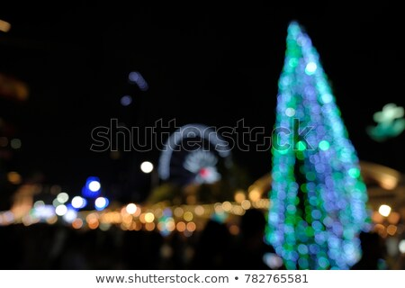abstract night lighs motion brur colorful glowing Stock photo © lunamarina