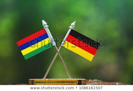 Germany and Mauritius Flags Stock photo © Istanbul2009