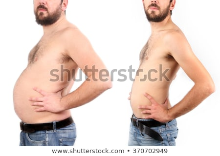 boy before and after diet stock photo © adrenalina