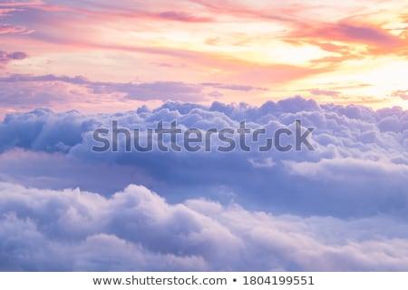 nuvens · fundo · azul · branco · ar · tempo - foto stock © erbephoto