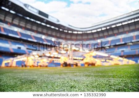 スタジアム サンティアゴ 建物 技術 スポーツ フィールド ストックフォト © Photooiasson