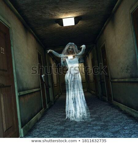 Casamento fantasmas família casal diversão máscara Foto stock © adrenalina