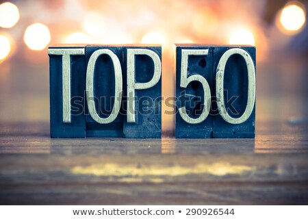 Top 50 Stock photo © Oakozhan